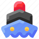 bukeicon, sea, ship, steamship, travel, vessel