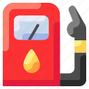 bukeicon, fuel, station, travel icon
