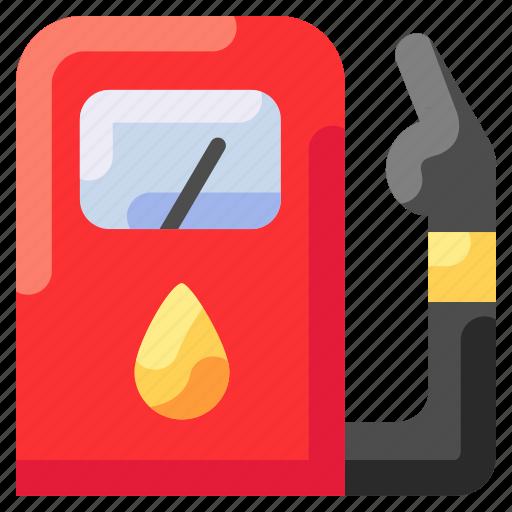 bukeicon, fuel, station, travel icon
