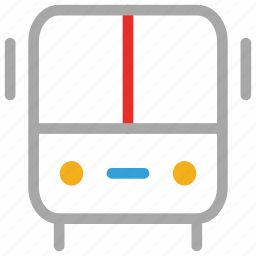 bus, coach, transport, travel icon