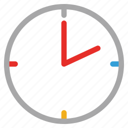 clock, timer, wall clock icon