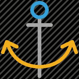 anchor, marine, nautical, ship icon