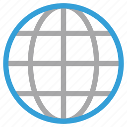 global, globe, network, web icon