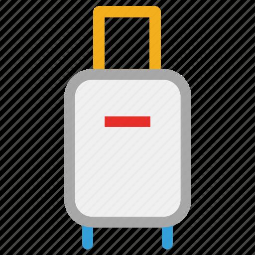 luggage, suitcase, travel suitcase, traveling bag icon
