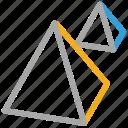 ahram-e-misr, egypt, giza pyramids, pyramids icon