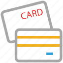 card, cash, credit card, debit card icon