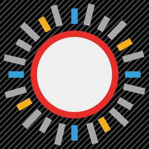 sun, sunny, sunny day, weather icon
