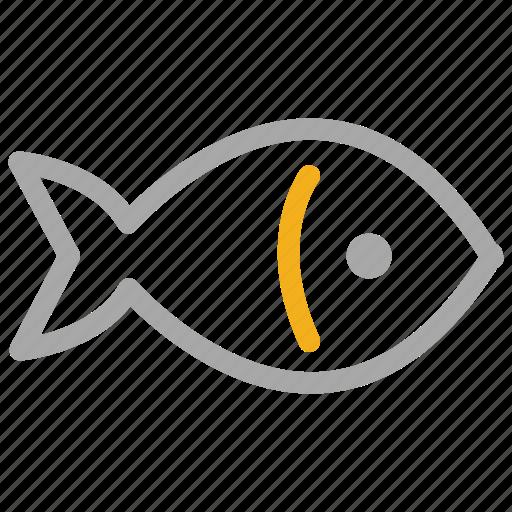 animal, fish, food, sea food icon