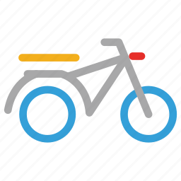 bike, motorbike, motorcycle, scooter icon