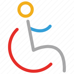 disable parking sign, disabled parking, handicapped parking place icon