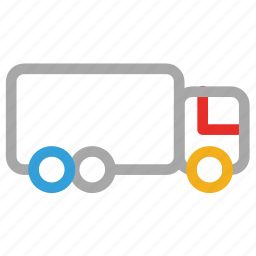 cargo, delivery truck, logistic truck, shipping icon