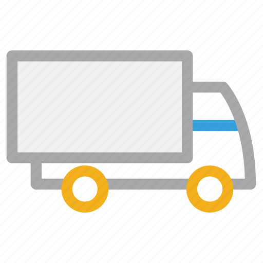 delivery truck, logistic truck, shipping, transport icon