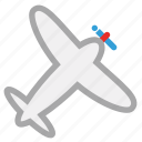 air plane, personal plane, plane, private plane icon
