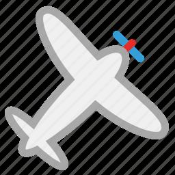 air plane, personal plane, plane, private plane icon