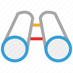 binoculars, search, view, zoom icon