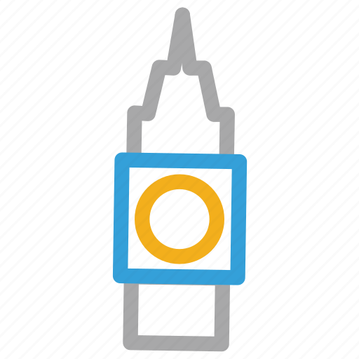 big ben, big ben tower, clock tower, old clock tower icon