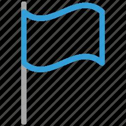 blank flag, flag, location flag, plain flag icon