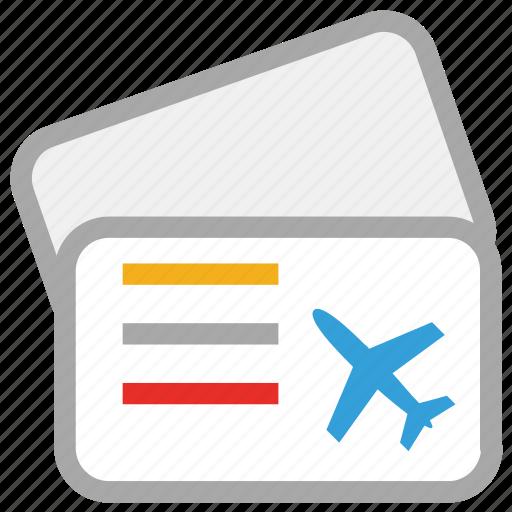 air ticket, airplane ticket, flight ticket, ticket icon