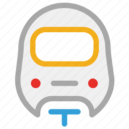 subway, train, transport, travel icon