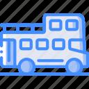 bus, journey, open, top, tourist, transport, travel icon