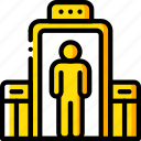 airport, check, journey, tourist, transport, travel icon