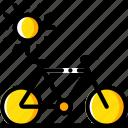 bike, journey, tourist, transport, travel icon