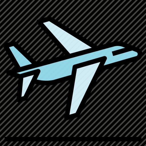 airport, departure, flight icon