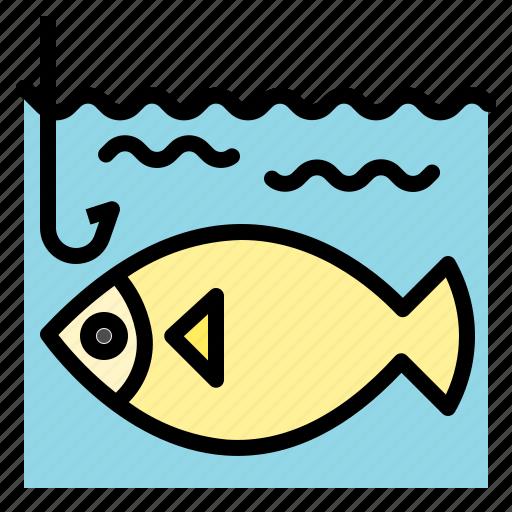 fish, fishing, parks icon