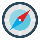 compass, location, navigation icon