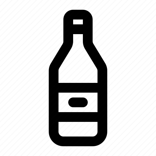 Alcohol, beer, bottle, drink, oil, wine, water icon - Download on Iconfinder