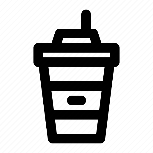 Food, takeaway, cold, coffee, cup, ice, drink icon - Download on Iconfinder