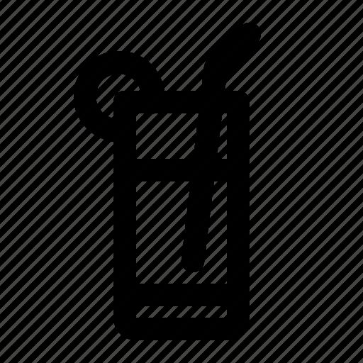 Alcohol, beverages, drink, glass, lemon, sparkling, water icon - Download on Iconfinder