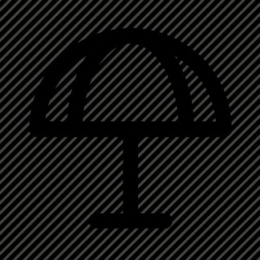 beach, tourism, travel, traveling, umbrella icon