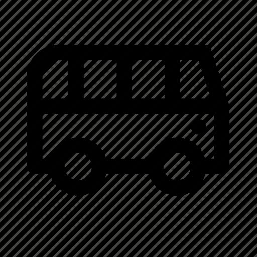 bus, tourism, transport, travel, traveling icon