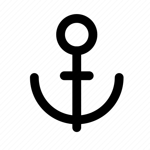 anchor, sea, tourism, travel, traveling icon