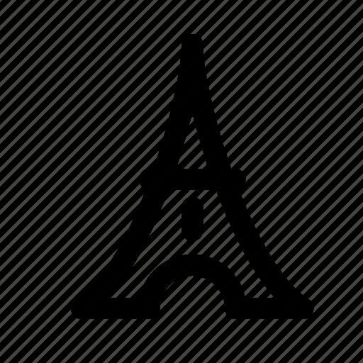 eiffel, eiffel tower, monument, sight, tourism, travel, traveling icon