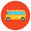 bus, transportation, vehicle, shipping, van