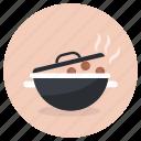 cooking, cooking pot, meal preparation, food preparation, hot pot