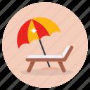 deck, chair, sunbed, sun tanning, beach, deck chair, sunbath