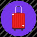 luggage, briefcase, travel bag, baggage, carryall bag, suitcase