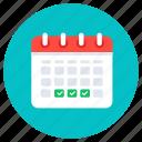 reminder, timetable, schedule, calendar, agenda