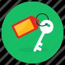 room, key, hotel key, house key, room key, keychain, locker key