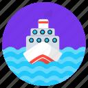 ship, cruise, watercraft, travel, craft, boat
