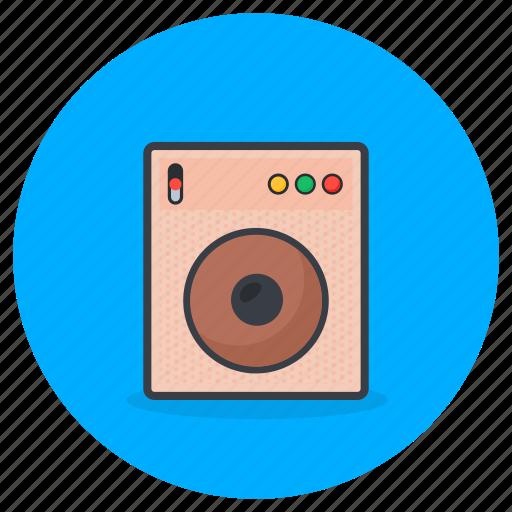 Speaker, music, sound, hardware, woofer icon - Download on Iconfinder