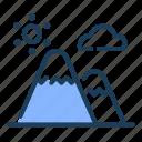 mount, mountain, landscape, nature