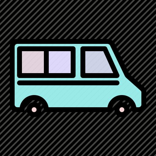 Car, transport, transportation, travel, van, vehicle icon - Download on Iconfinder