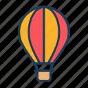 travel, trip, flight, air balloon
