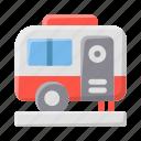 caravan, travel, vacation, rv, transportation, van, camp, tourism, motorhome