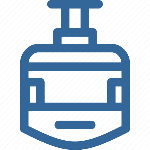monorel, sky, sky lift, train, transportation icon