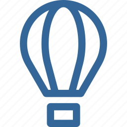 baloon, transportation icon